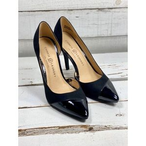 Chinese Laundry Suede & Patent Leather Heels